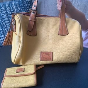 Dooney and Bourke Satchel with Matching wallet